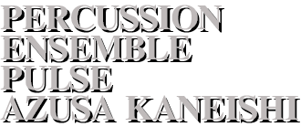 Percussion Ensemble PULUSE Azusa Kaneishi ¦Official Website